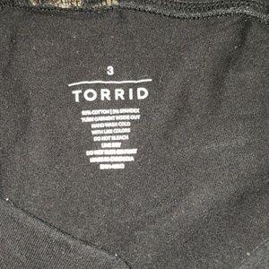 torrid Pants - Torrid rose gold seashell legging